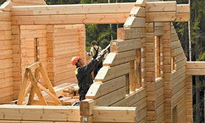 Росстат отметил рекордный рост доли деревянного домостроения